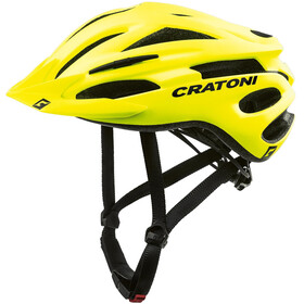 Cratoni Pacer Kask MTB, neon yellow matte